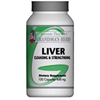 Grandma's Herbs Liver Cleanser - Detoxifier - All Natural Herbal Cleanse and Strengthener...