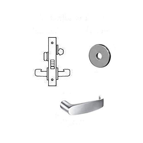 Heavy Duty Mortise Lockset, Lever