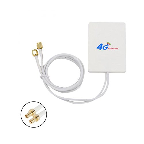 ONEVER 28dBi 4  G antenna TS9  Broadband antenna Signal Amplifier For 4  G LTE Mobile router