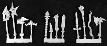 Reaper Weapon Pack I Miniature 25mm Heroic Scale Warlord Miniatures