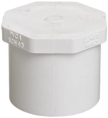 Spears PVC Pipe Fitting, Plug, Schedule 40, Spigot