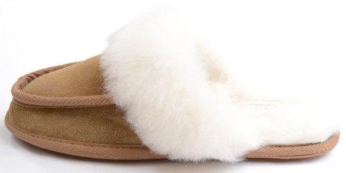 pecora interno rivestimento da in con donna di vello Snugrugs Pantofole autentico xBfCqfz
