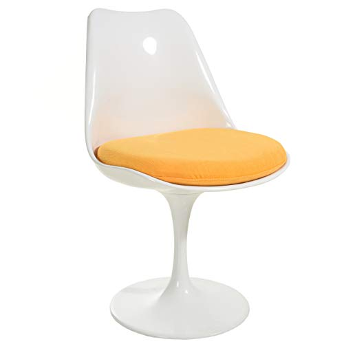Poly and Bark Daisy Side Chair in Yellow (Yellow Chair Ghost)