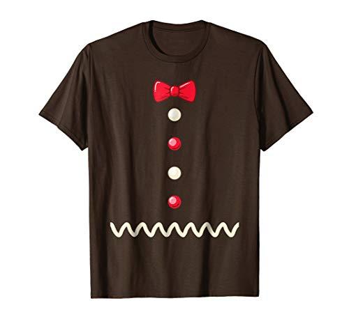 (Gingerbread Christmas Costume Funny Xmas)