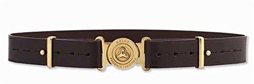 - Galco Adjustable Shell Pouch Belt, Dark Havana Brown, X-Large