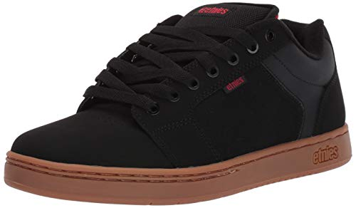 Etnies Men's Barge XL Skate Shoe, Black/Gum, 11 Medium US