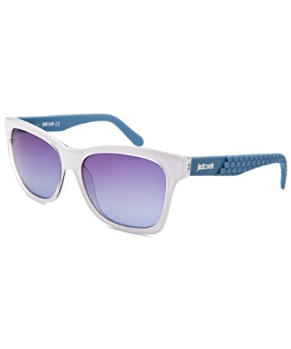 JUST CAVALLI Sunglasses JC649S 21W White / Gradient Blue 56MM