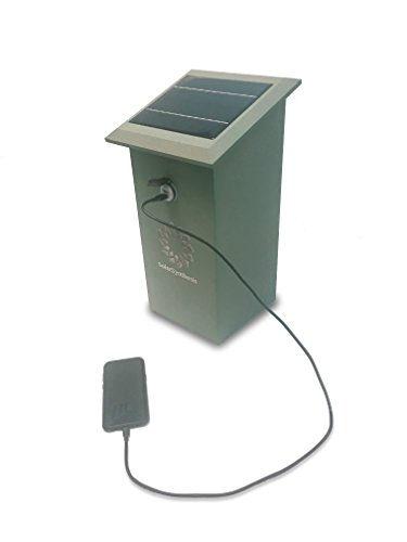 Solar Powered Cell Phone Charging Station - 4