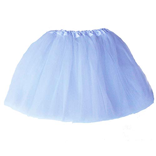 Lalapixie Tutu Skirts for Women Adult Plus Size 3 4 5 Layer (4Layer White, XL)