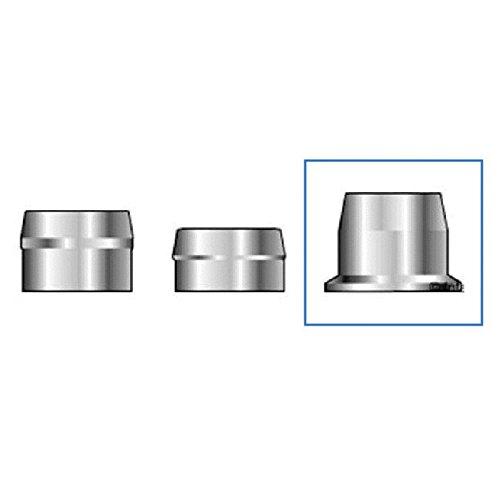 (QS-QUICK SHIP) Huck C6L 3LC-2R10G Lockbolt Collar; 5/16 Inch (0.313 Inch), FLNG Collar, Grade 2 Steel, Zinc CLR TRIV