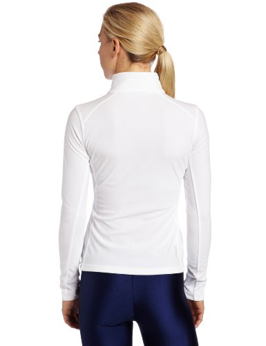 Spyder Damen Shimmer Bug Fleece T-Neck, damen, weiß