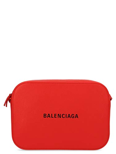 Balenciaga Women's 552370Dlq4n6561 Red Leather Messenger Bag