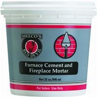 - MEECO'S RED DEVIL 1354 Furnace Cement and Fireplace Mortar