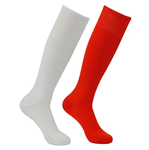 Athletic Soccer Socks, Feelingway Unisex Youth Adult Cushioned