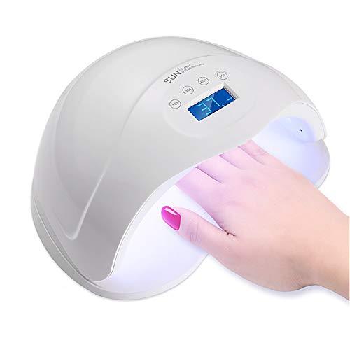 (uv nail lamp 48W LED/UV Nail Polish Curing Lamp For Hand & Foot Nail Art Auto Mode With Smart Sensor 4 Timer Function)