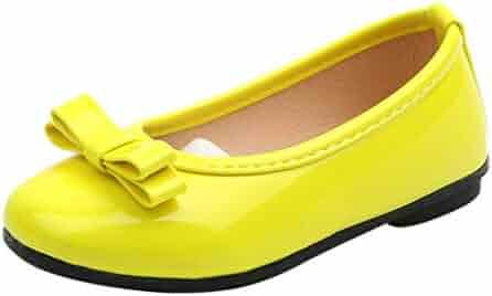 0c92fffd6a13 LIKESIDE Girl Ballet Non-Slip Toddler for Kid Infant Yellow