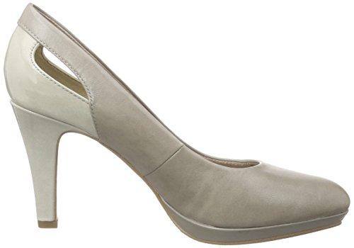 205 22411 Heels Grau Oliver Platform s Stone Grey Women's vqwn7Z58