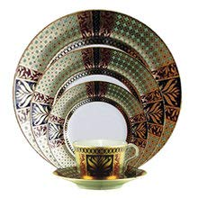 Crown 5 Piece Place Setting - Royal Crown Derby Veronese Accent Dinnerware 5 Piece Place Setting