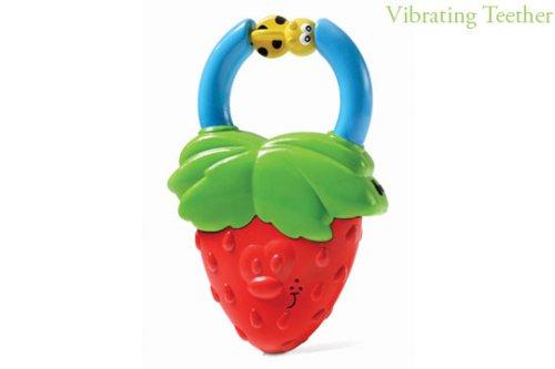 【セール】 Infantino Vibrating Vibrating Strawberry Teether by Infantino Infantino Infantino B002NQU65I, ラジコン夢空間:39267820 --- a0267596.xsph.ru