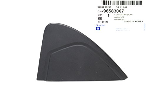 Rear Right Door Garnish for Chevy Chevrolet Aveo Part: 96583067