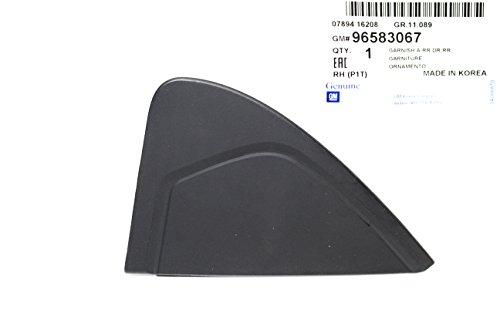 Rear Right Door Garnish for Chevy Chevrolet Aveo Part: 96583067 (Rear Garnish Door)