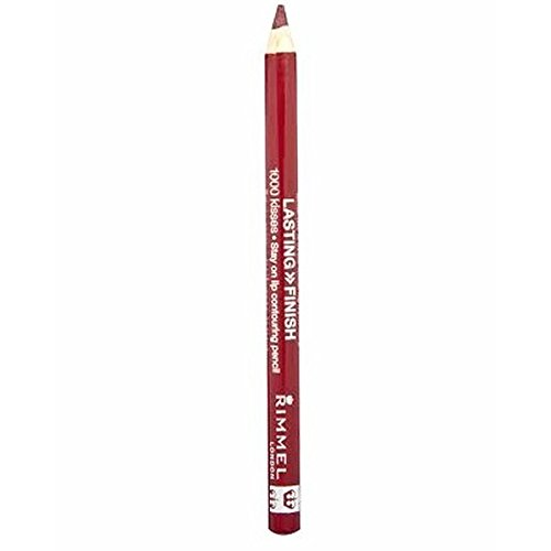 (RIMMEL LONDON Lasting Finish 1000 Kisses Stay On Lip Liner Pencil - Cherry Kiss by Rimmel)