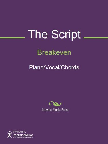 Breakeven Sheet Music (Piano/Vocal/Chords) - Kindle edition by ...