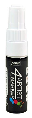 Pebeo 4Artist Marker, Oil Paint Marker, 8 mm - White (Drawing Pebeo)