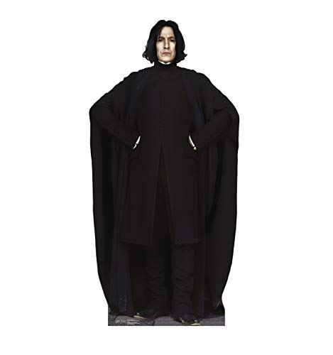 Advanced Graphics Professor Snape Life Size Cardboard Cutout Standup - Harry Potter and the Order of the - Potter Charcoal
