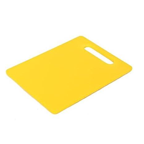 Forma eDealMax Utensilios de cocina rectangular antideslizante rebanar corte Tabla de cortar