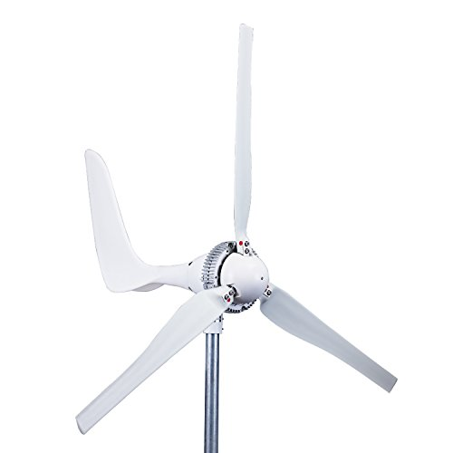 WINDMILL 1500W 24V 60A Wind Turbine Generator kit. MPPT charge controller included + automatic and manual breaking system & Amp...