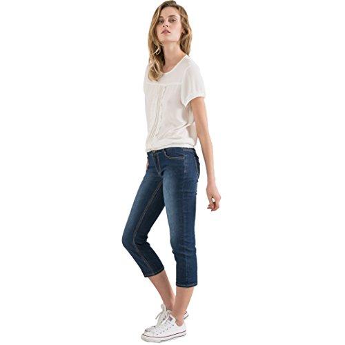 Pantaloni Collections Donna A Blu Stone Pinocchietto Jeans La Redoute ZI5U4qwp