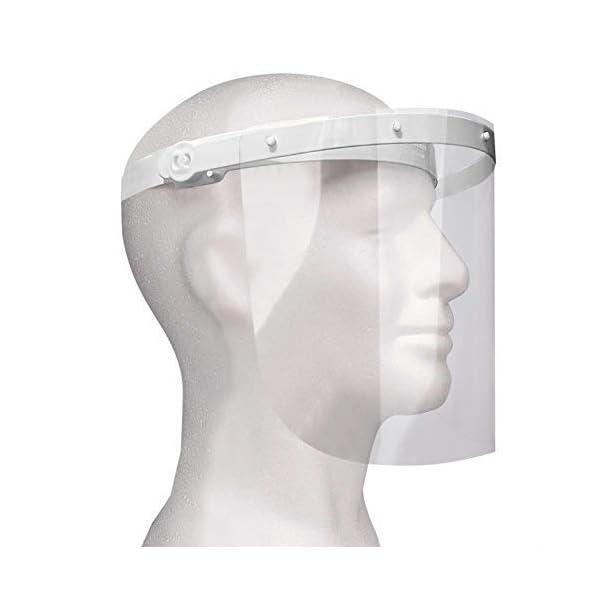 Enka-Care-Gesichtsschutz-Visier-aus-Kunststoff-Augenschutz-Spuck-Schutz-Premium-Gesichtsschild-CE-Zertifiziertes-Face-Shield-1H-2V-Wei