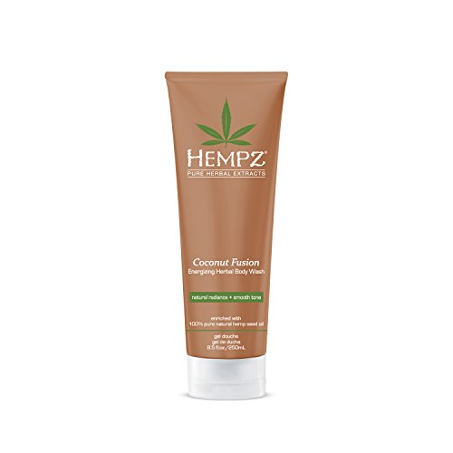 Allure Gel Shower - Hempz Hempz herbal body wash, pearl white, coconut fusion, 8.5 fluid ounce, 8.5 Ounce