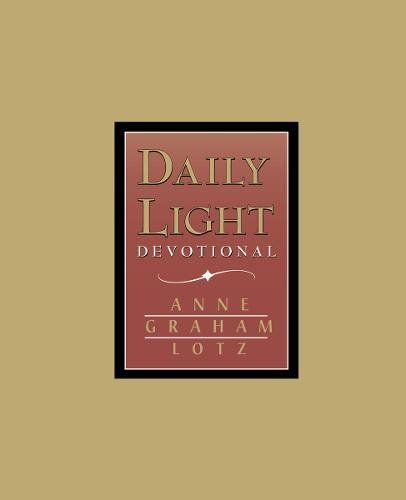 Daily Light Devotional (Burgundy Leather) cover