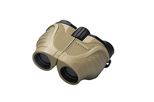 Crisol Compact Binoculars, 10x25 High Powerful Waterproof Binocular, Folding and Easy Focus for Adults and Kids with Bird Watching, Safari, Hiking, Travel, Concerts, Opera, Sport Games