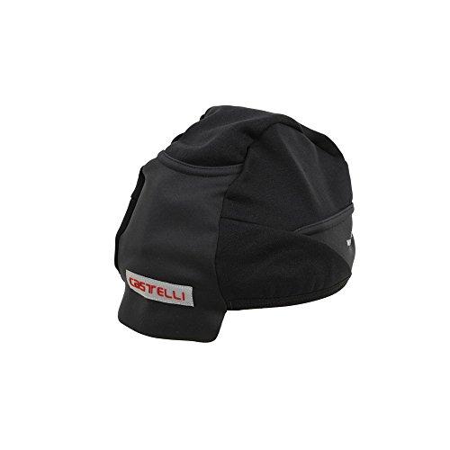 歩道切断するヘアCastelli(カステリ) Estremo WS Skully エストレモ Under Helmet Cap スカルキャップ Black [並行輸入品]