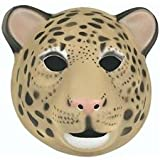 Wild Republic Mask 21 x 19cm for Children and Adults Leopard