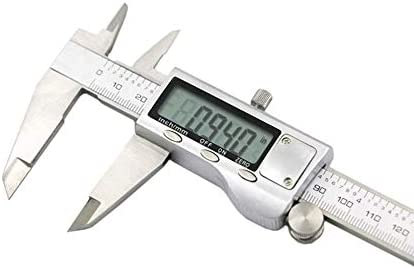 HYY-YY Digital Display Electronic Vernier Caliper Digital Display Vernier Caliper 200mm Caliper (Size : 0-200mm)