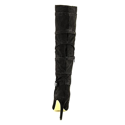Guess Suede Boots Daris Black Suede