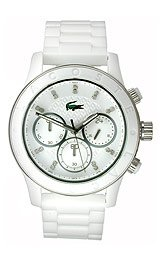 Lacoste Charlotte Chronograph Plastic - White Women's watch #2000805