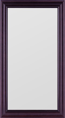 Gallery Solutions 12x24 Mirror with Classic Walnut Frame