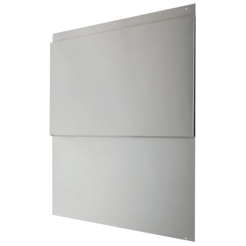 Air King BS36 36'' Wide x 33.44'' High Professional Series Range Hood Back Splash, Stainless Steel by Air King