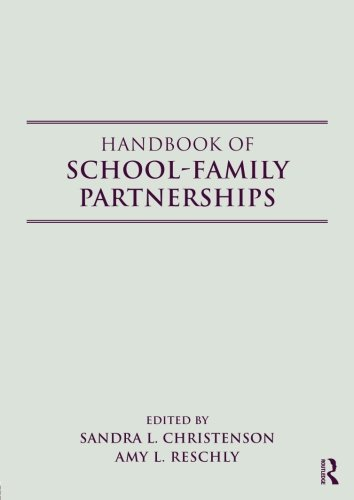 Handbook of School-Family Partnerships