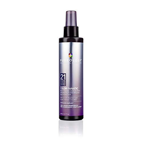 Pureology Color Fanatic Leave-in Conditioner Hair Treatment Detangling Spray | Protects Hair Color From Fading | Heat…