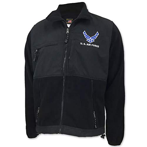 Air Force Wings Polar Fleece Jacket, x-large, ()