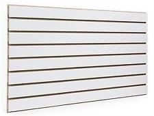 (White Slatwall Panels 24