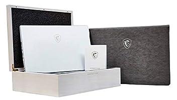 "MSI P65 Creator 8RF-441 Enthusiast (i7-8750H, 32GB RAM, 2TB NVMe SSD, NVIDIA GTX 1070 8GB, 15.6"" Full HD 144Hz 7ms, Windows 10 Pro) Professional Laptop - White Limited Edition"