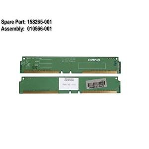 (Compaq Genuine 6-layer Crimm Module (RDRAM RIMM) Workstation AP250 AP550 SP750, W6000 W8000 Presario 7000 7100 7200 etc (Single) - Refurbished - 010566-001)