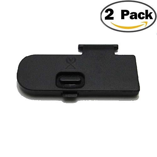 2PCS Battery Door Cover for Nikon D5100 Lid Cap DSLR Camera ()